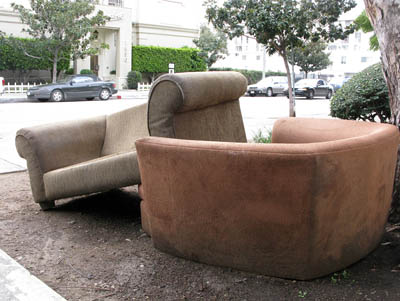 abandoned sofas chairs los angeles 2002-2012