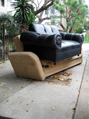 rlfisher abandoned sofas chairs los angeles 2002-2012